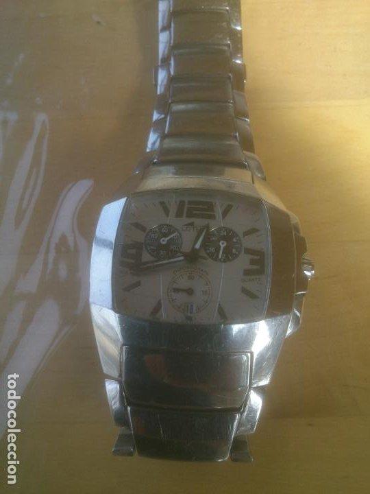 Relojes - Lotus: RELOJ LOTUS QUARTZ 15313 RELOJ Y CORREA DE ACERO ORIGINALES. - Foto 5 - 195057570