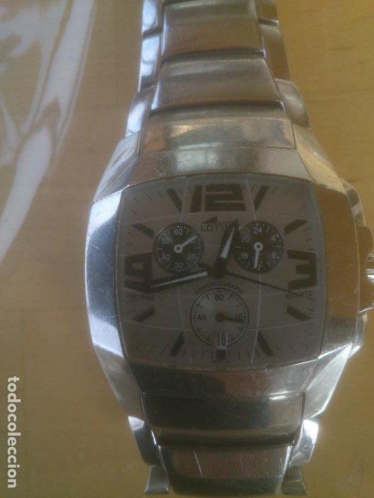 Relojes - Lotus: RELOJ LOTUS QUARTZ 15313 RELOJ Y CORREA DE ACERO ORIGINALES. - Foto 8 - 195057570