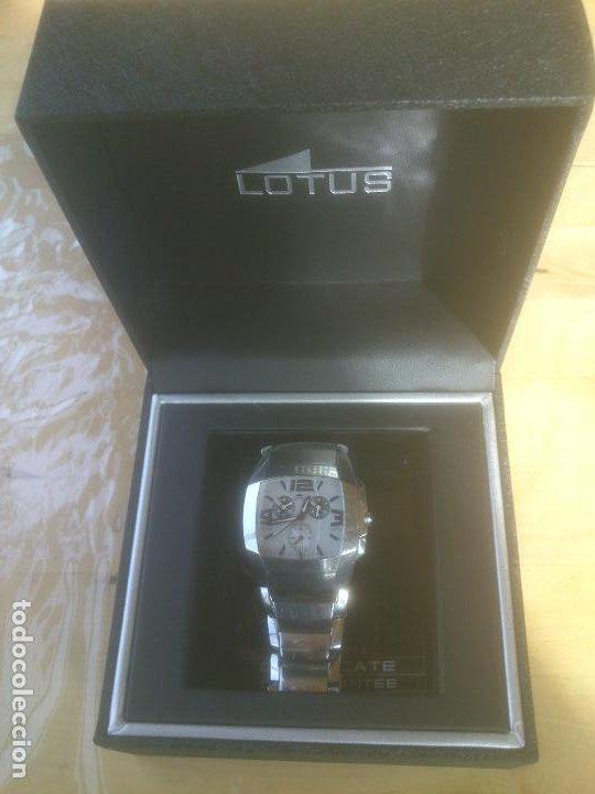 Relojes - Lotus: RELOJ LOTUS QUARTZ 15313 RELOJ Y CORREA DE ACERO ORIGINALES. - Foto 9 - 195057570
