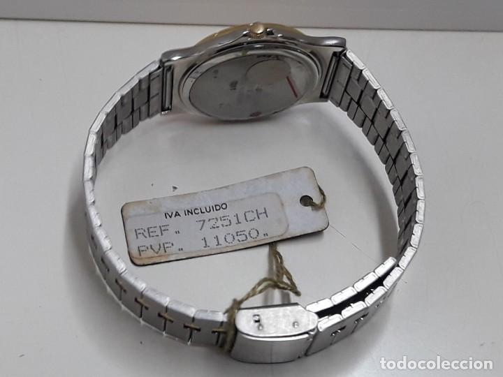 Relojes - Lotus: RELOJ LOTUS BICOLOR AÑOS 80 TAMAÑO CADETE Y NUEVO A ESTRENAR - Foto 7 - 195112463