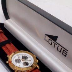Relojes - Lotus: RELOJ LOTUS CHRONOGRAPH ALARMA QUARTZ VINTAGE. Lote 195362735