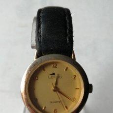 Relojes - Lotus: RELOJ DE PULSERA DE SEÑORA LOTUS.QUARTZ.. Lote 196128581