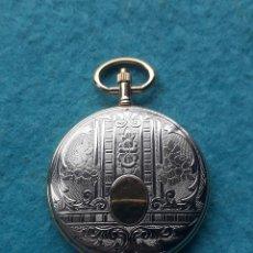 Relojes - Lotus: RELOJ DE BOLSILLO MARCA LOTUS CUARZ. CAJA DE METAL LABRADO. Lote 196335191