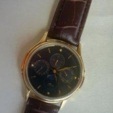 Relojes - Lotus: RELOJ LOTUS FASES LUNARES DE LOS AÑOS 80-90. DIÁMETRO: 34 MM - FUNCIONANDO CORRECTAMENTE. Lote 198079572