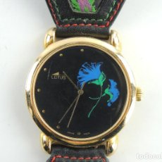 Relojes - Lotus: MAGNIFICO RELOJ DE PULSERA PARA MUJER MARCA LOTUS SWISS MADE EXCELENTE DISEÑO. Lote 198358193
