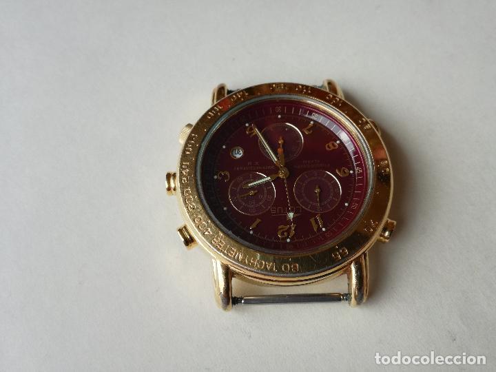Relojes - Lotus: RELOJ PARA HOMBRE LOTUS 9485-P CHRONOGRAPH ALARM - ESFERA ROJA. FUNCIONANDO CORRECTAMENTE - Foto 2 - 198537983