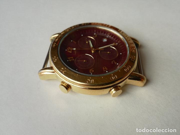 Relojes - Lotus: RELOJ PARA HOMBRE LOTUS 9485-P CHRONOGRAPH ALARM - ESFERA ROJA. FUNCIONANDO CORRECTAMENTE - Foto 3 - 198537983