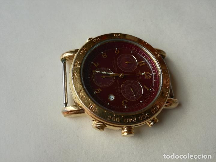 Relojes - Lotus: RELOJ PARA HOMBRE LOTUS 9485-P CHRONOGRAPH ALARM - ESFERA ROJA. FUNCIONANDO CORRECTAMENTE - Foto 4 - 198537983