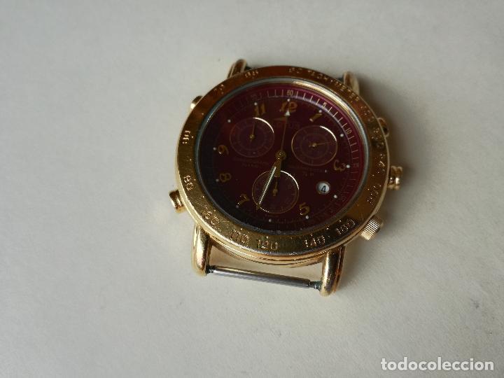 Relojes - Lotus: RELOJ PARA HOMBRE LOTUS 9485-P CHRONOGRAPH ALARM - ESFERA ROJA. FUNCIONANDO CORRECTAMENTE - Foto 6 - 198537983