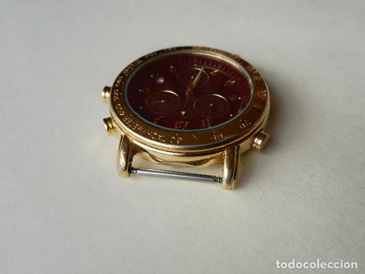 Relojes - Lotus: RELOJ PARA HOMBRE LOTUS 9485-P CHRONOGRAPH ALARM - ESFERA ROJA. FUNCIONANDO CORRECTAMENTE - Foto 7 - 198537983