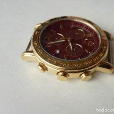 Relojes - Lotus: RELOJ PARA HOMBRE LOTUS 9485-P CHRONOGRAPH ALARM - ESFERA ROJA. FUNCIONANDO CORRECTAMENTE. Lote 198537983