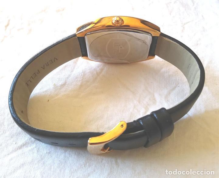 Relojes - Lotus: Reloj Lotus Vintage, Calendario, placado Oro, buen estado como nuevo, con estuche. - Foto 3 - 198785390