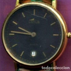 Relojes - Lotus: RELOJ DE PULSERA LOTUS AZUL OSCURO DE NIÑO. Lote 199944091
