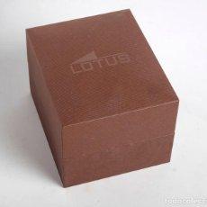 Relojes - Lotus: CAJA ESTUCHE ORIGINAL DE RELOJ LOTUS. Lote 201171540