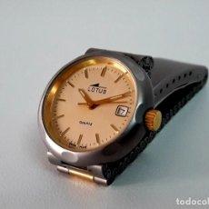 Relojes - Lotus: RELOJ LOTUS BICOLOR SEÑORA DE CUARZO AÑOS 90 Y NUEVO A ESTRENAR. Lote 203221920