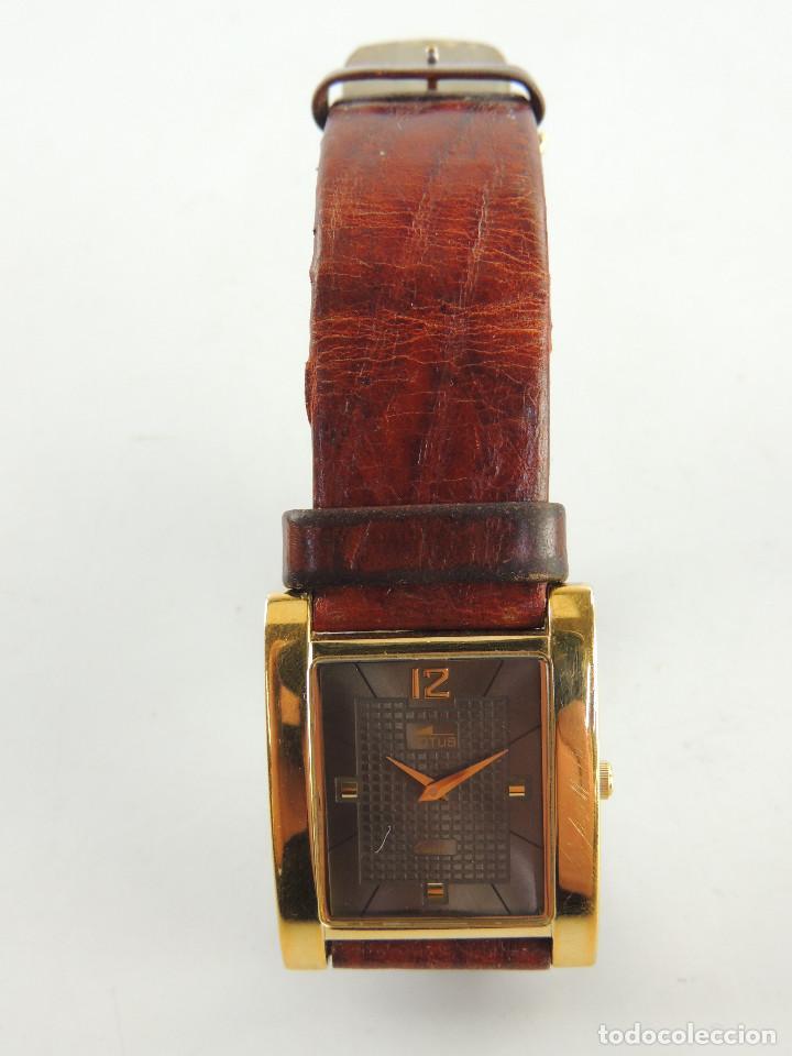 EXCELENTE RELOJ DE PULSERA MARCA LOTUS QUARTZ GOLD PLATED (Relojes - Relojes Actuales - Lotus)