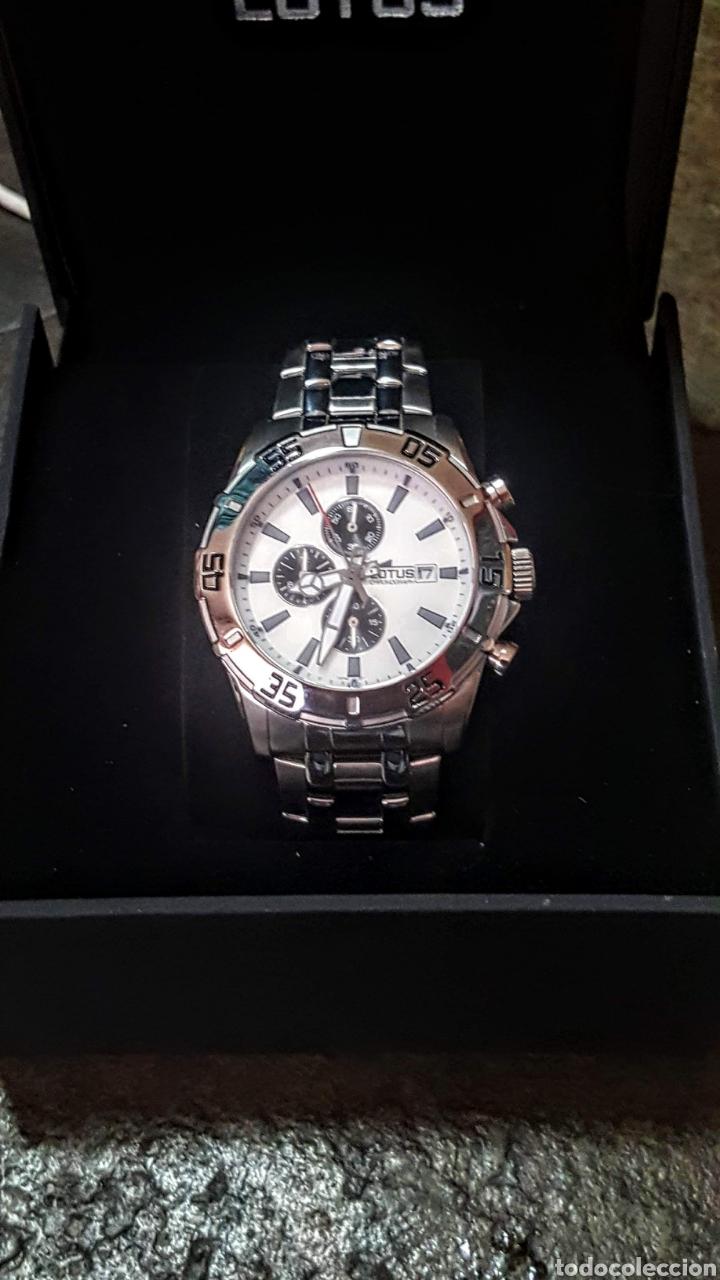 Relojes - Lotus: Reloj Lotus CRONÓGRAFO CALENDARIO WATER RESISTENTE 50MTROS CUARZO NUEVO SIN ESTRENAR CON SU CAJA DE - Foto 8 - 206177978