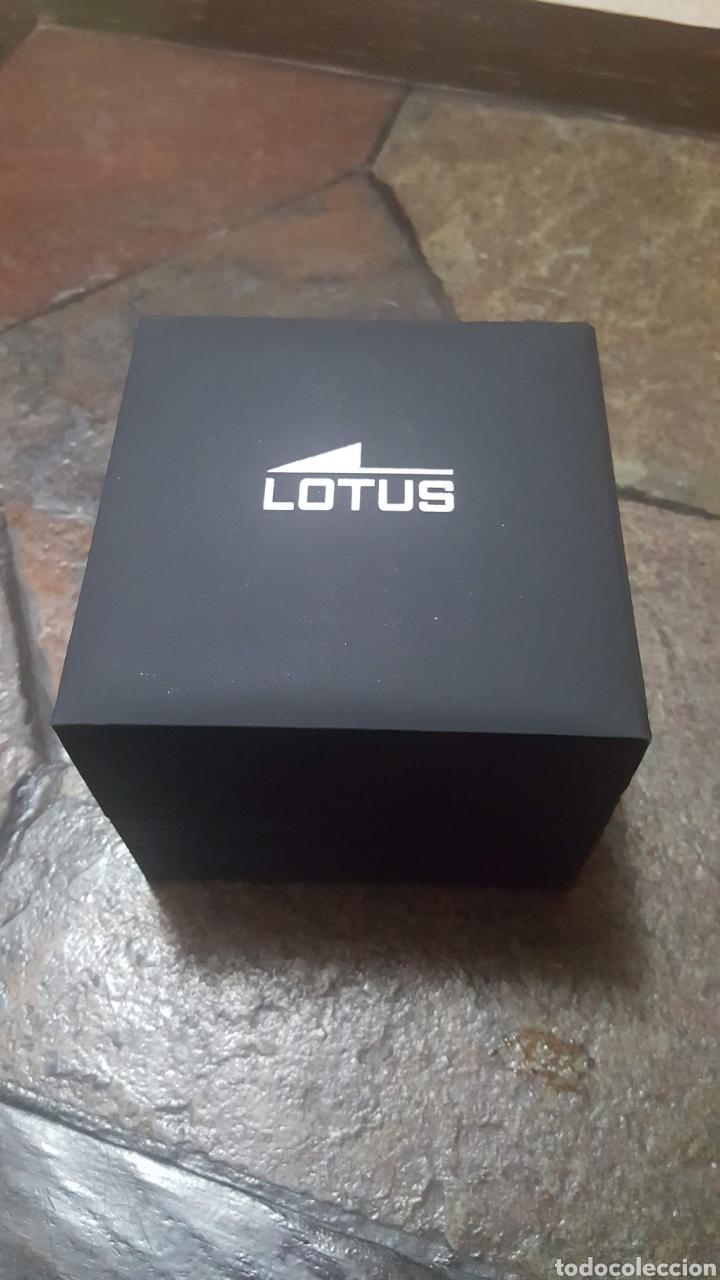 Relojes - Lotus: Reloj Lotus CRONÓGRAFO CALENDARIO WATER RESISTENTE 50MTROS CUARZO NUEVO SIN ESTRENAR CON SU CAJA DE - Foto 12 - 206177978