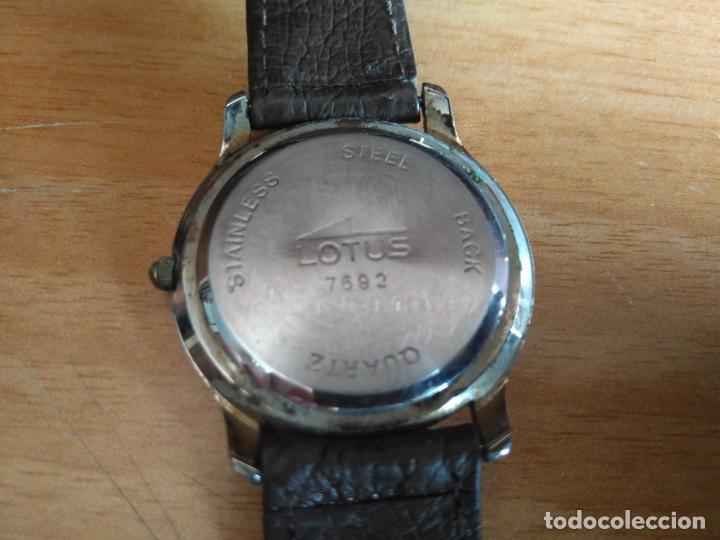 Relojes - Lotus: LOTUS 7692 - RELOJ - CORREA DE PIEL, EN MUY BUEN ESTADO - Foto 2 - 206875948
