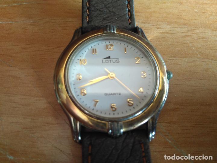 LOTUS 7692 - RELOJ - CORREA DE PIEL, EN MUY BUEN ESTADO (Relojes - Relojes Actuales - Lotus)