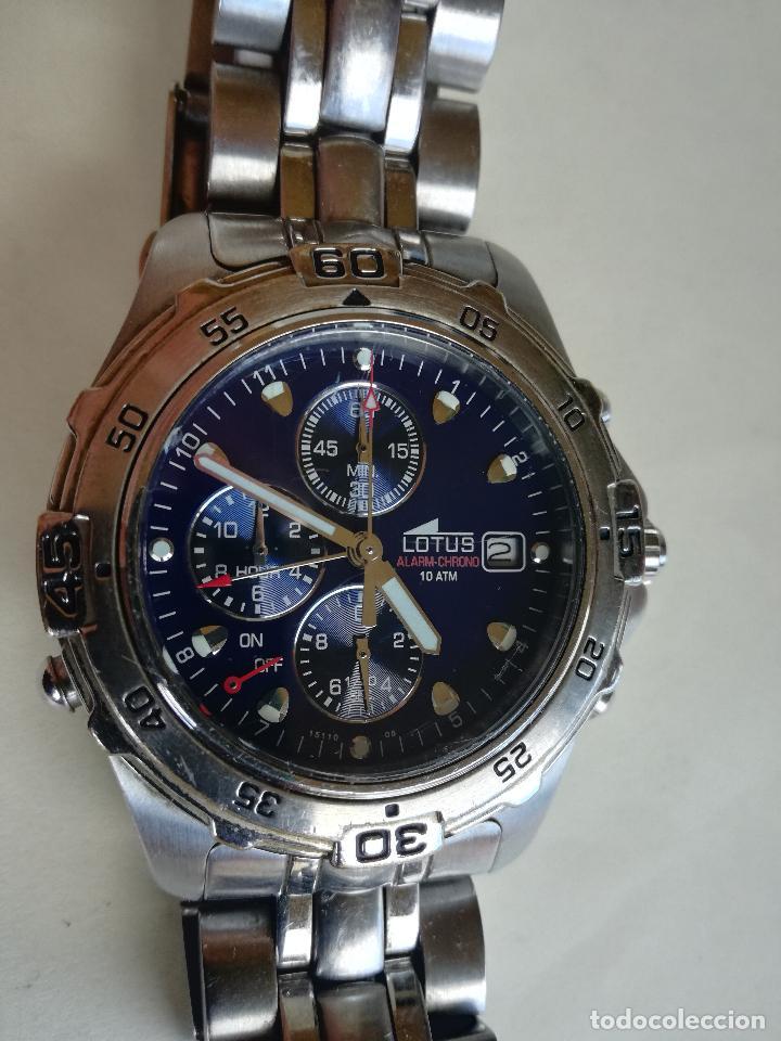 Relojes - Lotus: RELOJ PULSERA CABALLERO LOTUS 15110 08 ALARM - CHRONO 40 MM - Foto 2 - 208318695