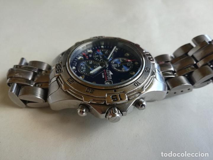 Relojes - Lotus: RELOJ PULSERA CABALLERO LOTUS 15110 08 ALARM - CHRONO 40 MM - Foto 3 - 208318695