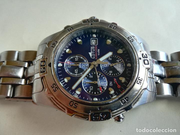 Relojes - Lotus: RELOJ PULSERA CABALLERO LOTUS 15110 08 ALARM - CHRONO 40 MM - Foto 4 - 208318695