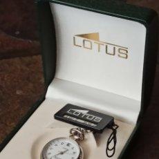 Relojes - Lotus: RELOJ LOTUS DE ENFERMERA CALENDARIO NUEVO CON SU CAJA SIN ESTRENAR CUARZO DIÁMETRO 32 MILÍM. Lote 208684365