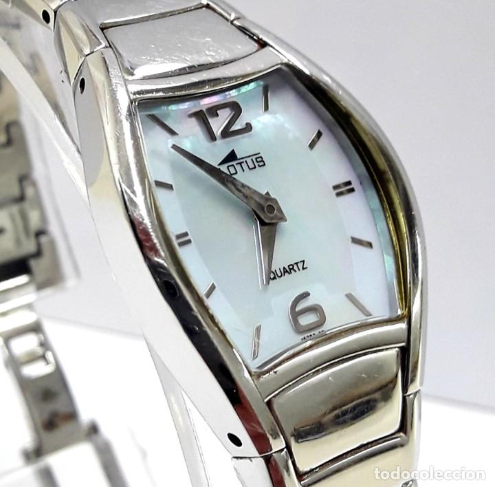 RELOJ LOTUS DE SEÑORA DE CUARZO AÑOS 2000 (Relojes - Relojes Actuales - Lotus)
