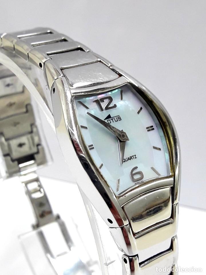 Relojes - Lotus: RELOJ LOTUS DE SEÑORA DE CUARZO AÑOS 2000 - Foto 9 - 210235245
