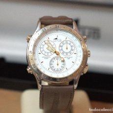 Relojes - Lotus: RELOJ LOTUS CRONOGRAPH DE CUARZO CON ESTUCHE - CAJA 36 MM - FUNCIONANDO. Lote 210646665