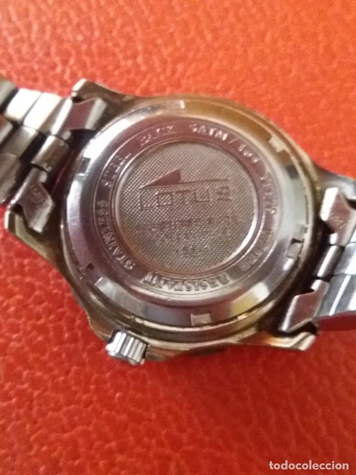 Relojes - Lotus: RELOJ LOTUS MULTIFUNCION. - Foto 8 - 211781506