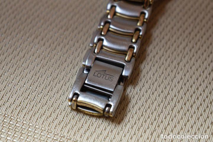 Relojes - Lotus: RELOJ LOTUS DE CUARZO - CAJA 34 mm - FUNCIONANDO - Foto 4 - 211911426