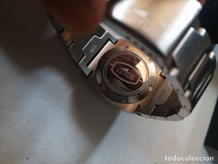 Relojes - Lotus: RELOJ DE CABALLERO LOTUS WR.50M. CON SU CAJA. - Foto 4 - 212209797