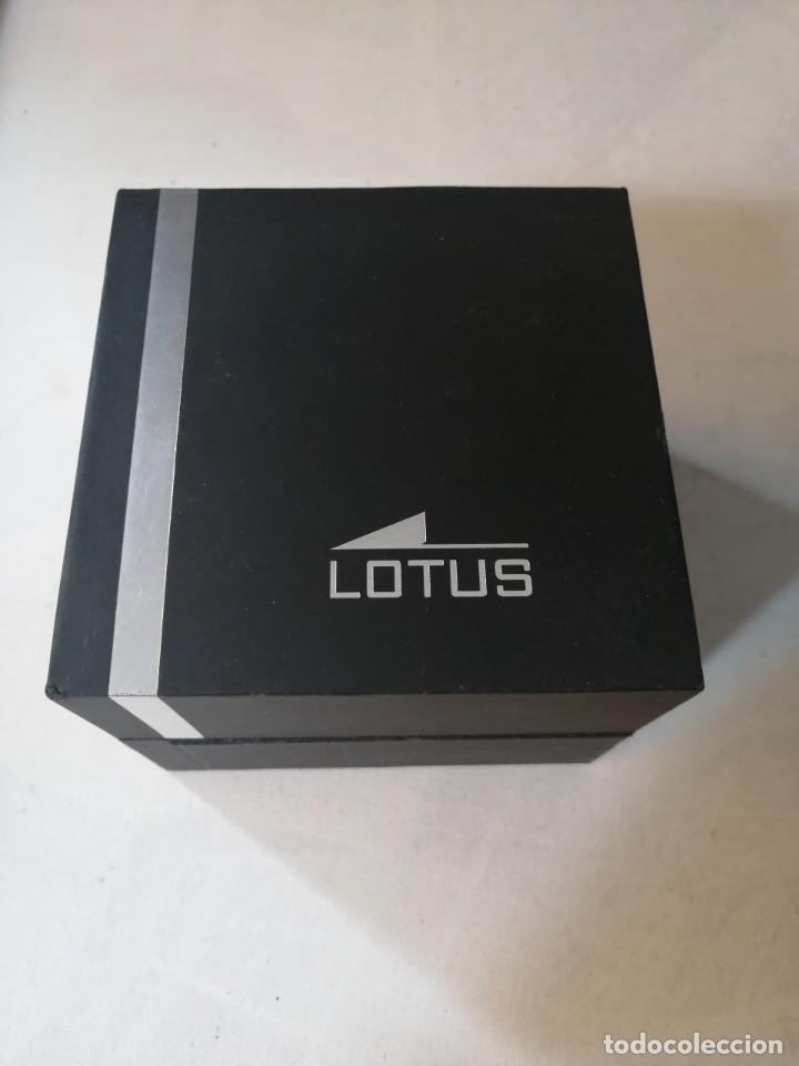 Relojes - Lotus: RELOJ DE CABALLERO LOTUS WR.50M. CON SU CAJA. - Foto 6 - 212209797