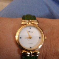 Relojes - Lotus: LOTUS CON ESMERALDAS. Lote 212228696