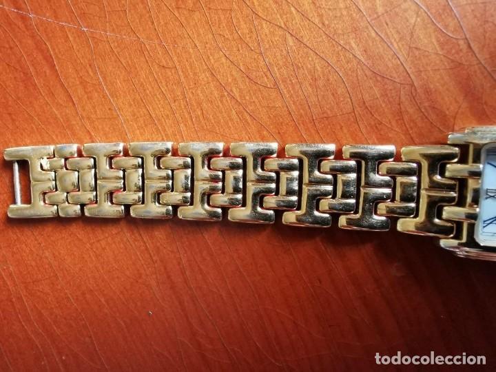 Relojes - Lotus: Reloj de señora de cuarzo chapado de oro con correa chapada de oro, funcionanado, numeros romanos - Foto 2 - 214268847
