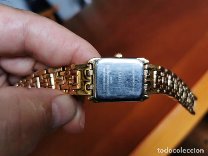 Relojes - Lotus: Reloj de señora de cuarzo chapado de oro con correa chapada de oro, funcionanado, numeros romanos - Foto 6 - 214268847