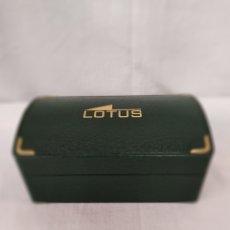 Relojes - Lotus: ESTUCHE DE RELOJ LOTUS. Lote 214337470