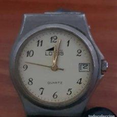 Relojes - Lotus: BELLO RELOJ VINTAGE DE MUJER, MARCA LOTUS, CORREA ORIGINAL. Lote 215144327