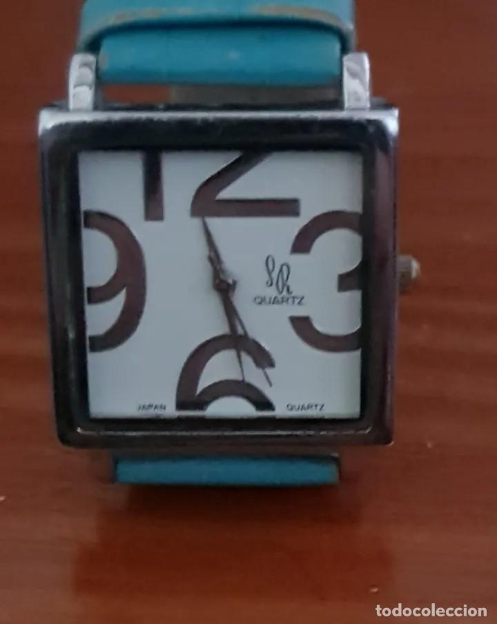 BELLO RELOJ VINTAGE DE MUJER, MARCA SR, CORREA ORIGINAL, MOVIMIENTO JAPONÉS (Relojes - Relojes Actuales - Lotus)
