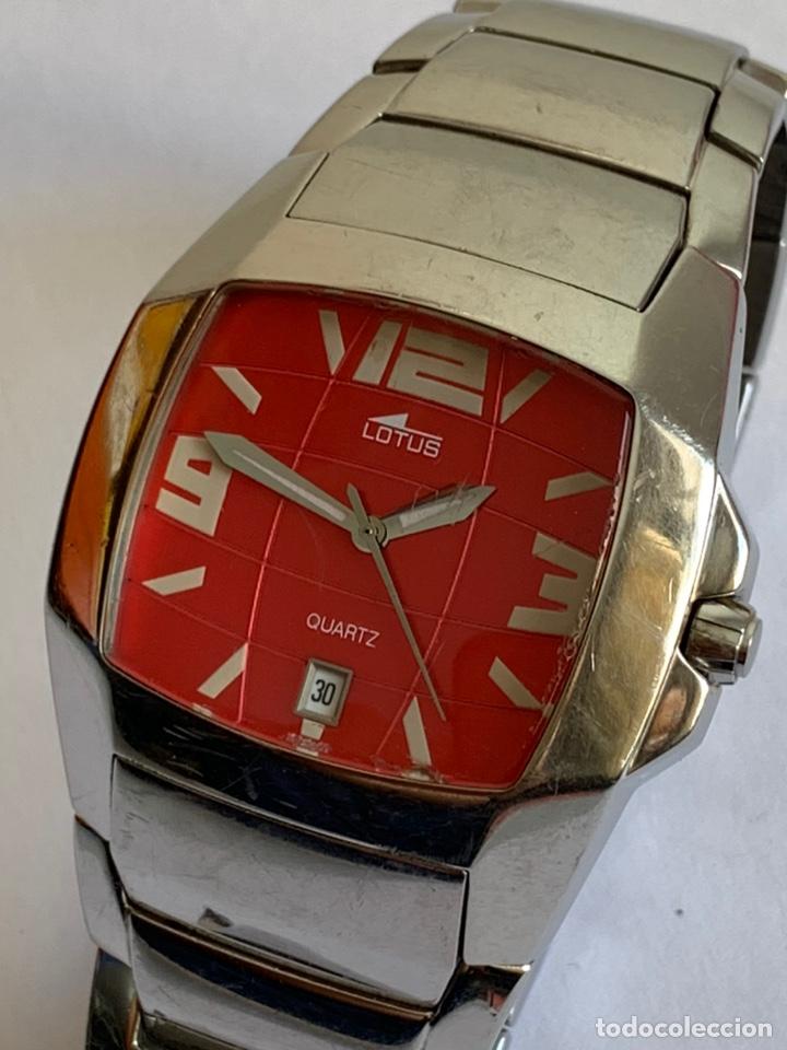 Relojes - Lotus: Reloj LOTUS QUARTZ DATE WATER RESISTANT 100/330FT - Foto 2 - 217907942