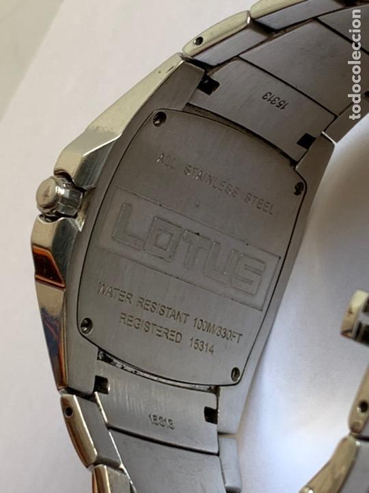 Relojes - Lotus: Reloj LOTUS QUARTZ DATE WATER RESISTANT 100/330FT - Foto 5 - 217907942