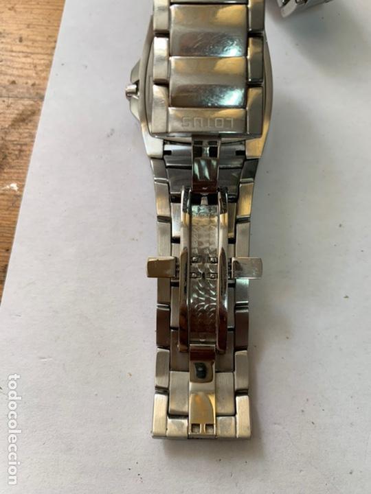 Relojes - Lotus: Reloj LOTUS QUARTZ DATE WATER RESISTANT 100/330FT - Foto 6 - 217907942