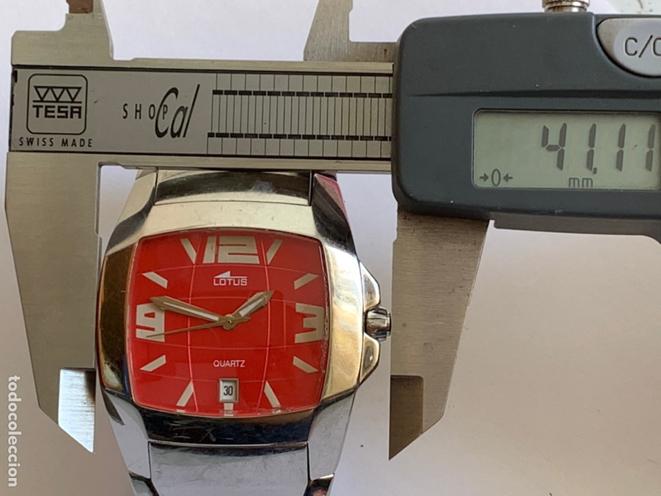 Relojes - Lotus: Reloj LOTUS QUARTZ DATE WATER RESISTANT 100/330FT - Foto 7 - 217907942