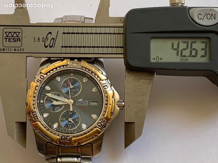 Relojes - Lotus: Reloj LOTUS QUARTZ DAY DATE Y MES MULTIFUNCTION WATER RESISTANT 100M - Foto 5 - 217908668