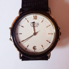 Relojes - Lotus: RELOJ LOTUS CON CALENDARIO AÑOS 80 .. Lote 218482582