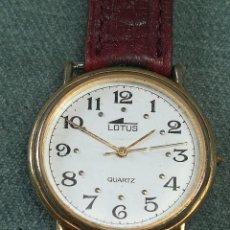 Relojes - Lotus: RELOJ LOTUS QUARTZ - CON PILA Y FUNCIONANDO - CORREA DE CUERO. Lote 220101500