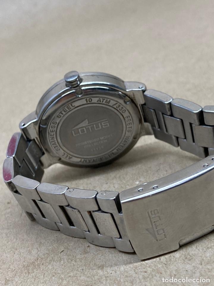 Relojes - Lotus: Reloj Lotus Quartz en funcionamiento acero completo - Foto 3 - 221936665