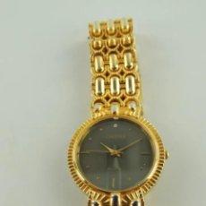 Relojes - Lotus: RELOJ MARCA CRESSTAN, ACABADO ACERO Y CHAPADO EN ORO DE 18 K. MAQINARIA JAPONESA.. Lote 223839831